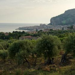 Sicilie - Zicht op Cefalu