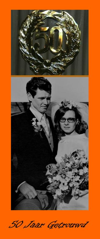 50 jaar getrouwd  - 27 maart 1968 . Marian en Peter trouwden toen.     Nu 50 jaar later.