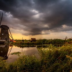 Sunset Kinderdijk 03