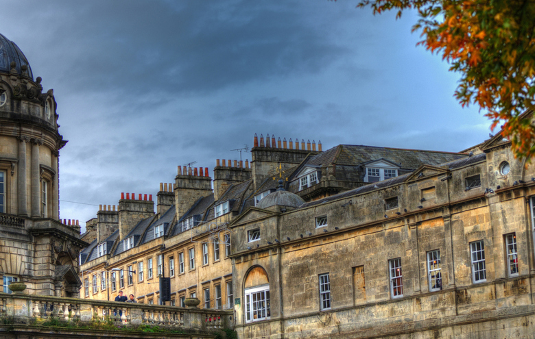 The city of Bath(GB).City of chimneys._01 -