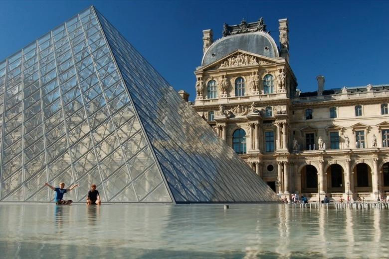 Het Louvre, Parijs -