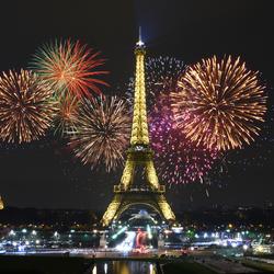 Eifel Tower by Night