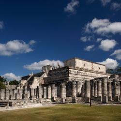 De tempel van de krijgers
