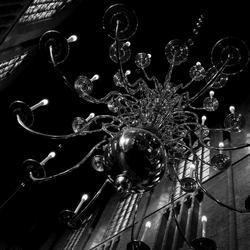 Kroonluchter Nieuwe Kerk Delft
