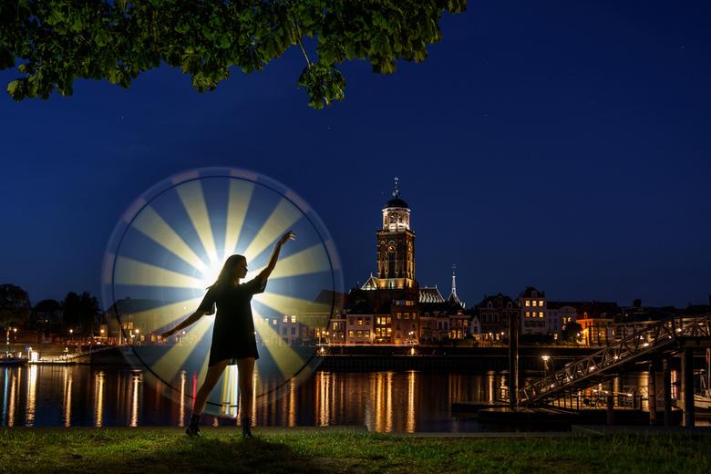 Deventer lightpainting -