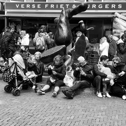 Lunchtime in Delft