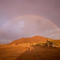 180 graden regenboog