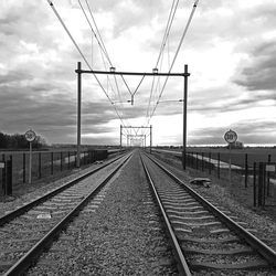 Spoor Rotterdam - Gouda