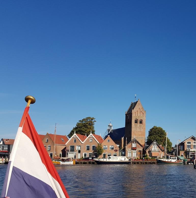 op het water bij Grou - vakantie op het water, Grou Fryslân