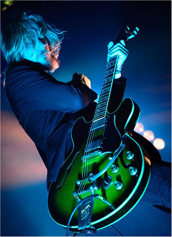 Navarone 2014 - Gitarist Kees Lewiszong van Navarone @DRU Cultuurfabriek Ulft, okt. 2014.