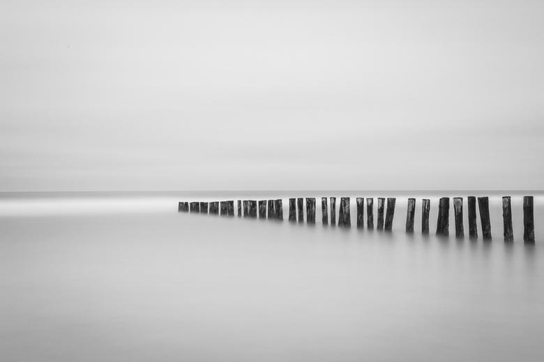 Stilte - lange sluitertijd in het zeeuwse