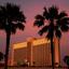 Zonsondergang in Las Vegas