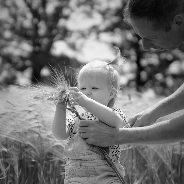 Vader dochter ❤️ - De natuur ontdekken met papa