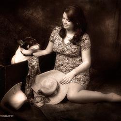 meisje met hond 2