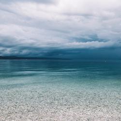 Adriatic blue.