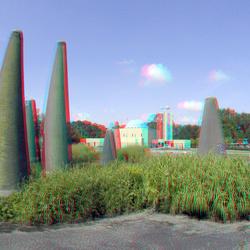 Fonteinlandschap by Hans Petri in Dordrecht 3D GoPro