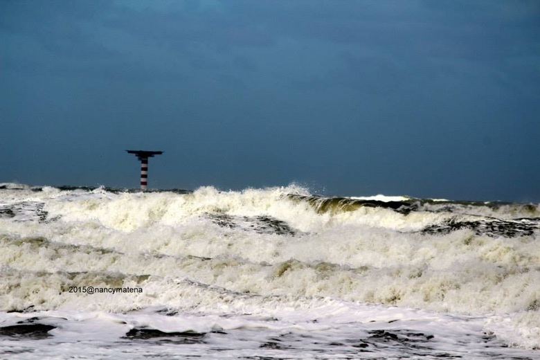 Storm in holland