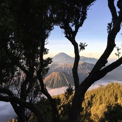 De bromo vulkaan, Java