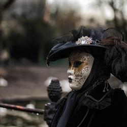 Deuxième carnaval Vénitien à Bruges