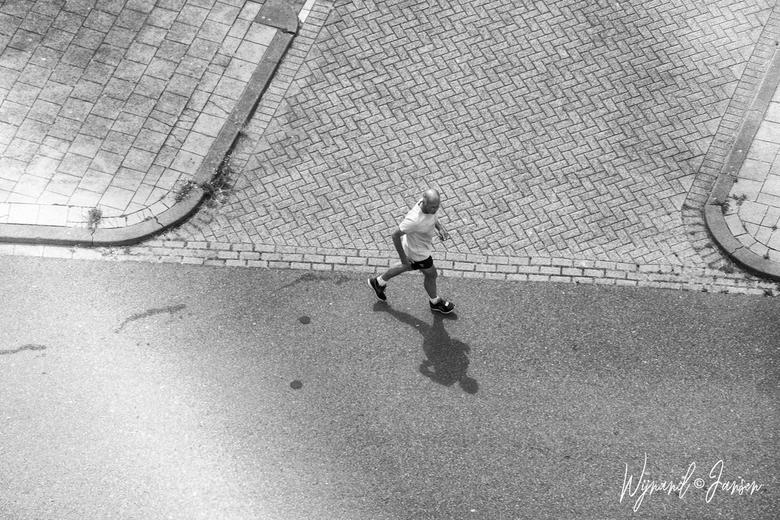 The runner -