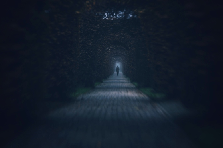 Don't look back  - Lensbaby