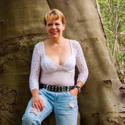 brenda in het bos