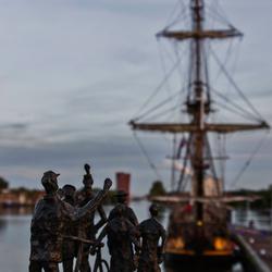 Zeilschip in Zaandam