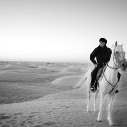 Woeste Woestijn Rijder (tunesie)