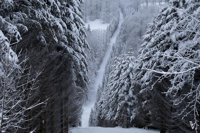 Had ik maar een slee - Precies wat ik dacht toen ik deze sneeuwgang zag.