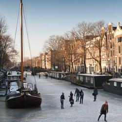Schaatsen in Amsterdam