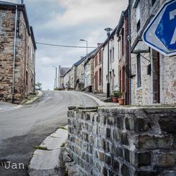 gewoon een weg het dorp uit