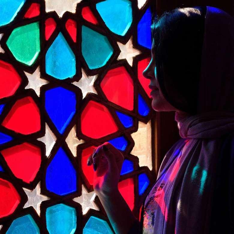 Beautiful faces of Iran - Een van de meest fascinerende landen van de wereld: Nasir ol Molk Moskee, Shiraz, Iran