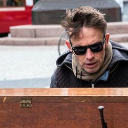 Pianist op straat