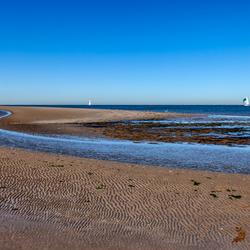 Strand en zeilen is leven