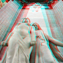Sculptures Pantéon Paris 3D