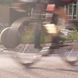 door een wiel