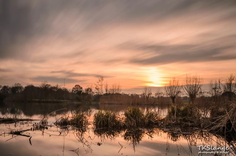 Lost Winter Sunset