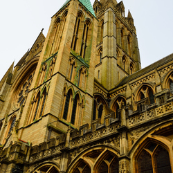 Cathedral Truro in Cornwall.