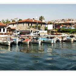haventje marmaris turkije