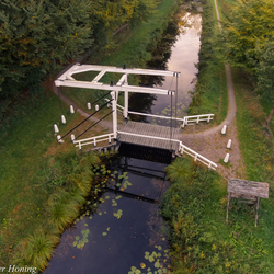 Veenhuizen, de oude brug..