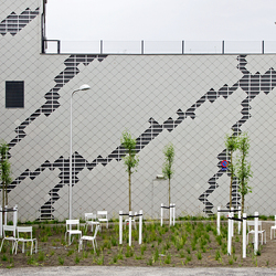 Artistieke muur