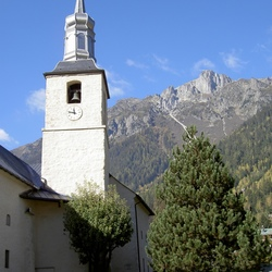 Mooi kerkje in Chamonix