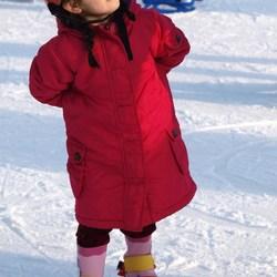Bewerking: Het rode schaatsmonstertje..II