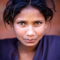 Portret, Nepal, November 2012