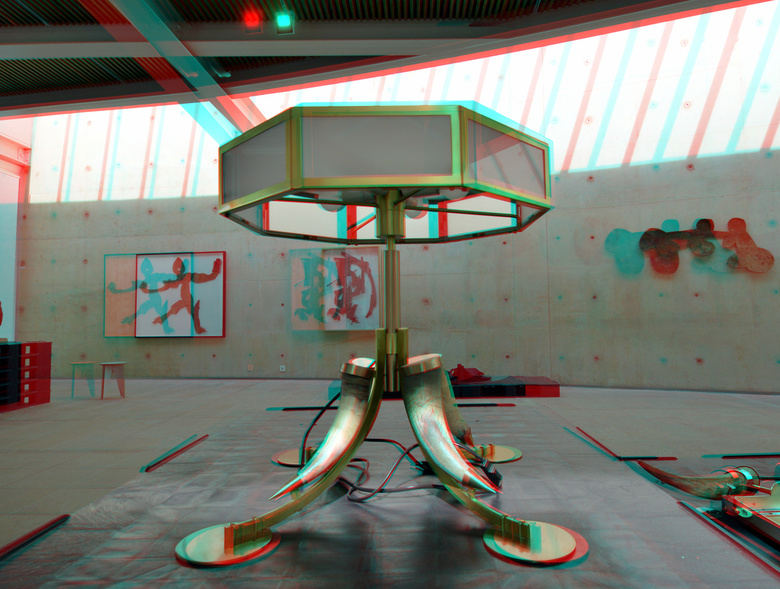 Carel Visser in BAZ 3D - Carel Visser in BAZ 3D<br /> anaglyph stereo red/cyan