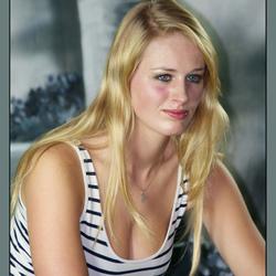 Portret Met Streepjes