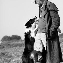 De liefde tussen de herder en zijn hond