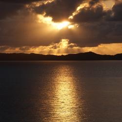Noorse zonsondergang