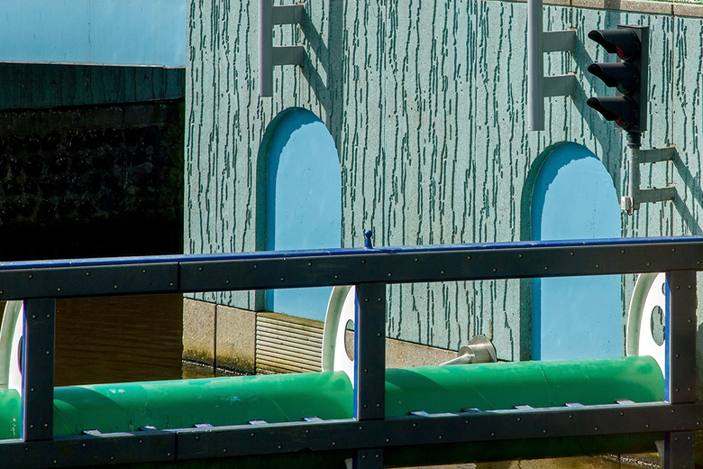 Groninger Museum 12 - Gezien vanaf het restaurant