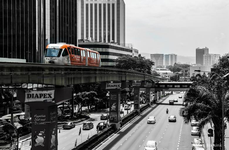 Monorail Kuala Lumpur - Monorail KLCC